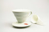 hario v60 white ceramic dripper 1 cup