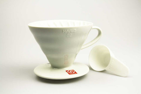 Hario v60 Ceramic Dripper White