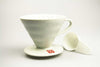 Hario v60 white ceramic dripper 2 cup