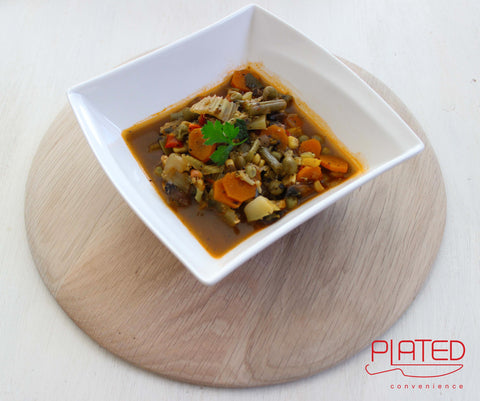 Plated Loaded Vegetable Soup (350g)