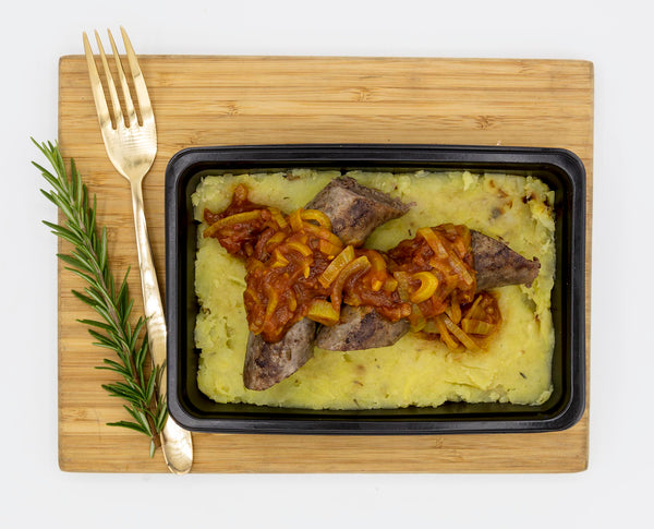 Boerewors Bredie and Sweet Potato Mash