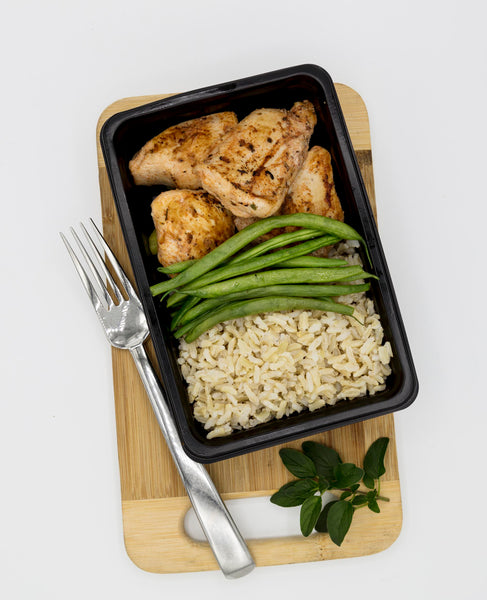 Chicken, Rice and Green Beans