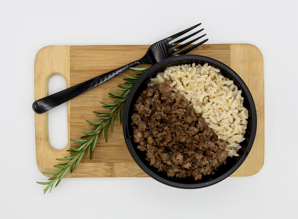 Lean Beef Mince and Rice (Clean Meals)