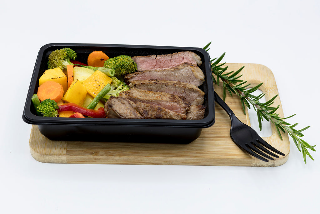 150g Rump and Vegetables