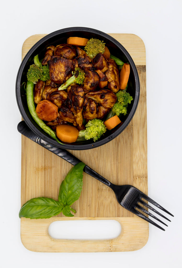 Teriyaki Chicken and Vegetables (300g)