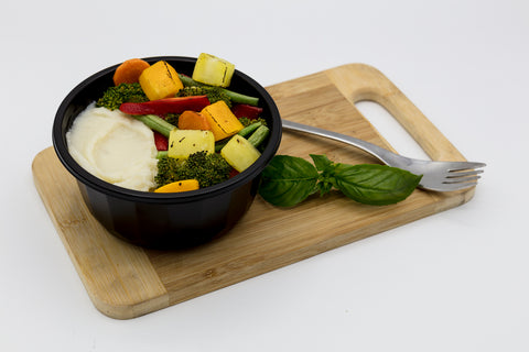 Roasted Vegetables on Caulimash (320g)