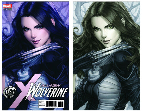 "ALL NEW WOLVERINE #19 KRS COMICS STANLEY ""ARTGERM"" LAU EXCLUSIVE"