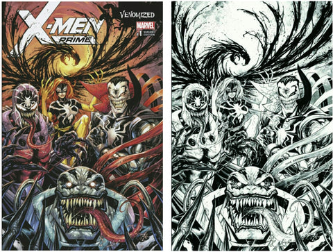 X-MEN PRIME #1 WONDERCON EXCLUSIVE TYLER KIRKHAM VENOMIZED VARIANTS