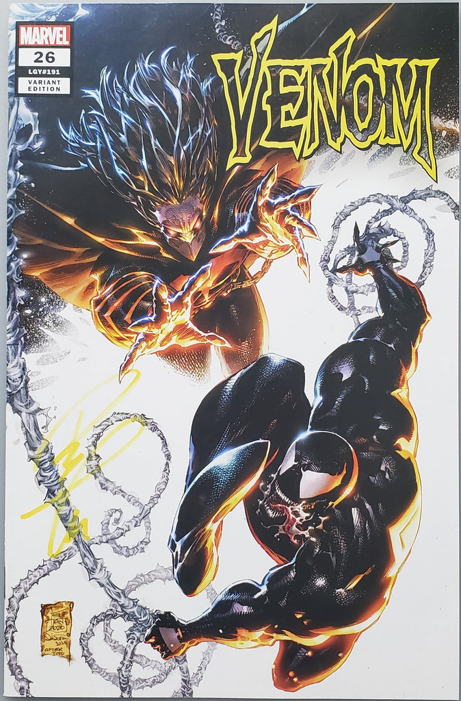VENOM #26 PHILIP TAN COVER A VARIANT SIGNED BY PHILIP TAN