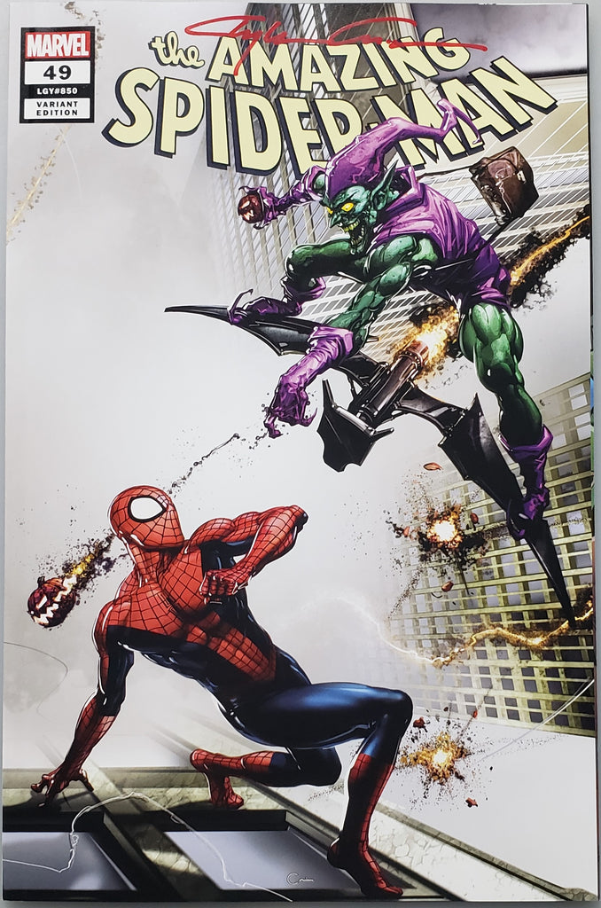 AMAZING SPIDER-MAN #49 CLAYTON CRAIN COVER A VARIANT SIGNED BY CLAYTON CRAIN
