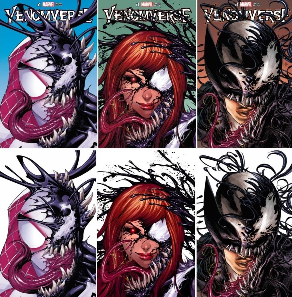 VENOMVERSE #1 EXCLUSIVE VARIANTS