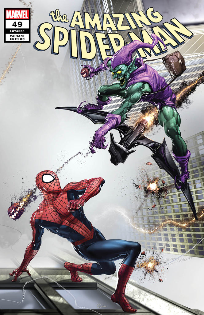 AMAZING SPIDER-MAN #49 (LEGACY #850) CLAYTON CRAIN VARIANT OPTIONS