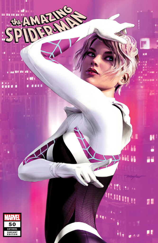 AMAZING SPIDER-MAN #50 MIKE MAYHEW VARIANT OPTIONS