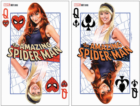 AMAZING SPIDER-MAN #801 MIKE MAYHEW VARIANT SET