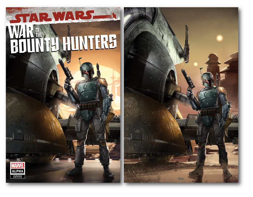 STAR WARS WAR OF THE BOUNTY HUNTERS ALPHA #1 CLAYTON CRAIN VARIANT OPTIONS