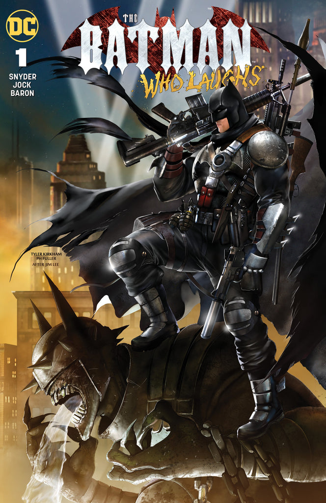 BATMAN WHO LAUGHS #1 (OF 6) TYLER KIRKHAM VARIANT OPTIONS