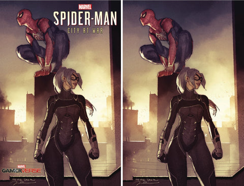 SPIDER-MAN CITY AT WAR #1 (OF 6) GERALD PAREL VARIANTS