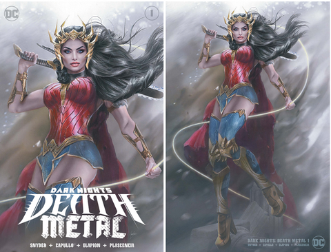 DARK NIGHTS DEATH METAL #1 (OF 6) NATALI SANDERS VARIANT OPTIONS