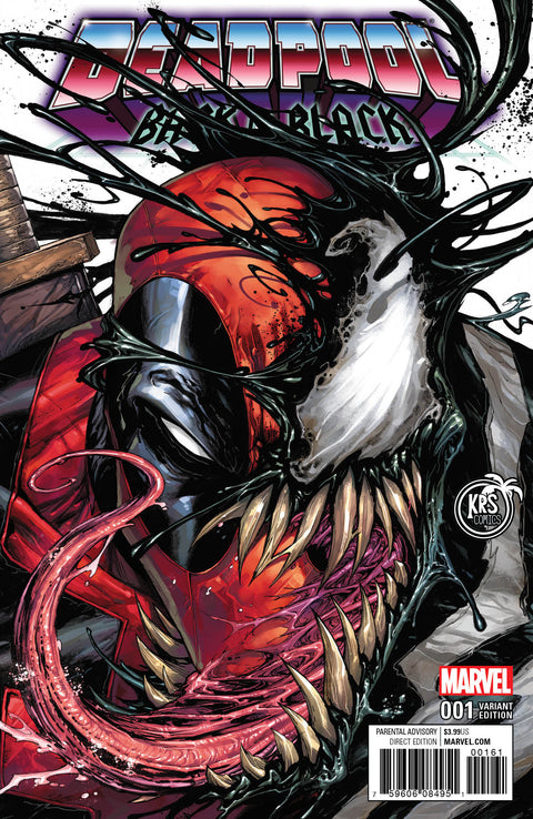DEADPOOL BACK IN BLACK #1 TYLER KIRKHAM COLOR VARIANT