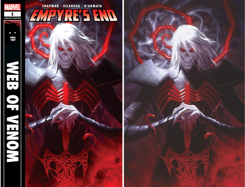 WEB OF VENOM EMPYRES END #1 ALEX GARNER VARIANT OPTIONS