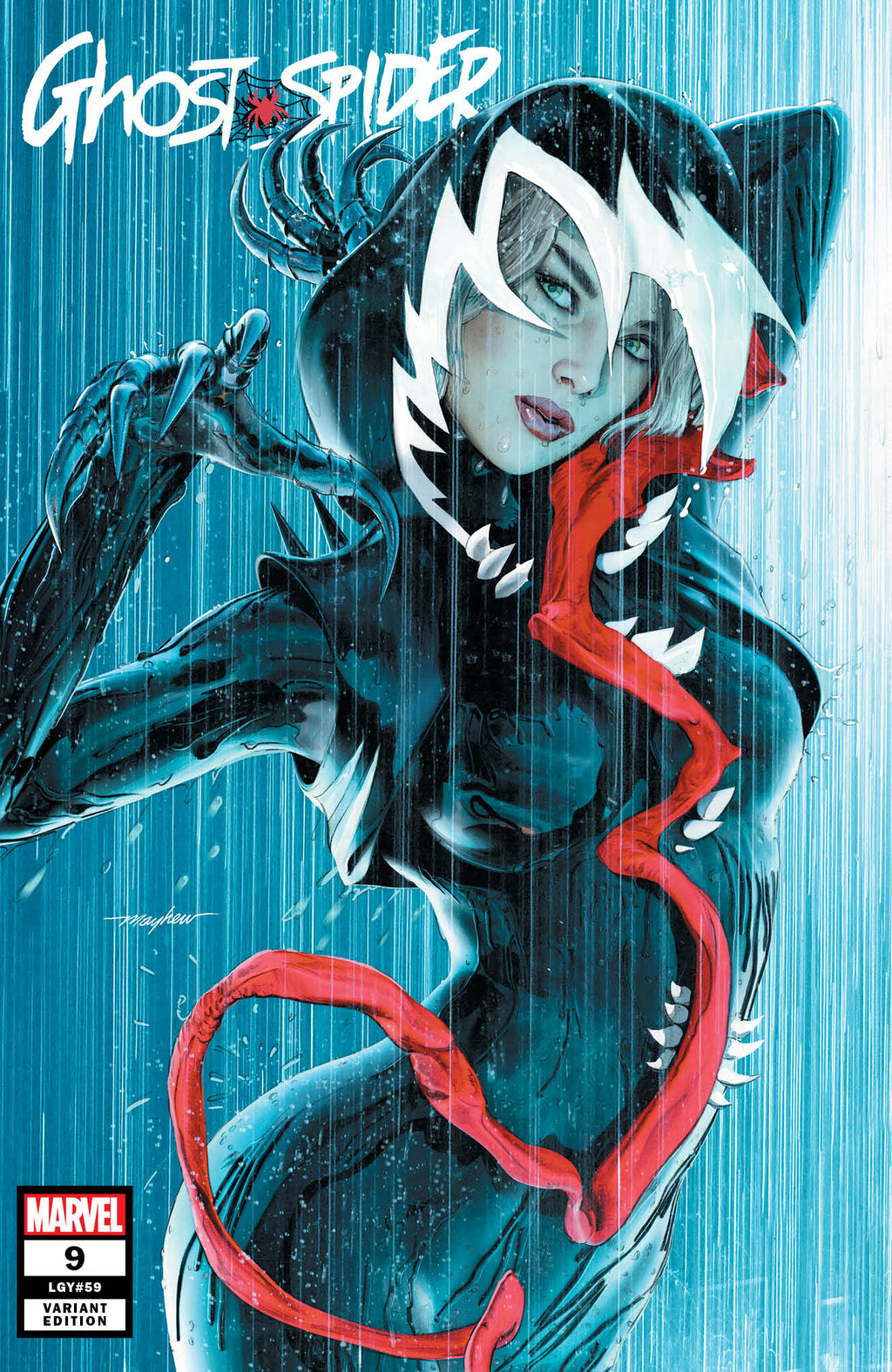 GHOST-SPIDER #9 MIKE MAYHEW VARIANT OPTIONS