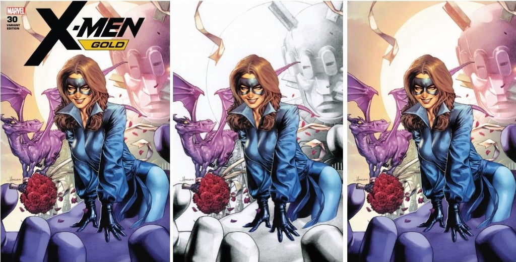 X-MEN GOLD #30 JAY ANACLETO VARIANTS