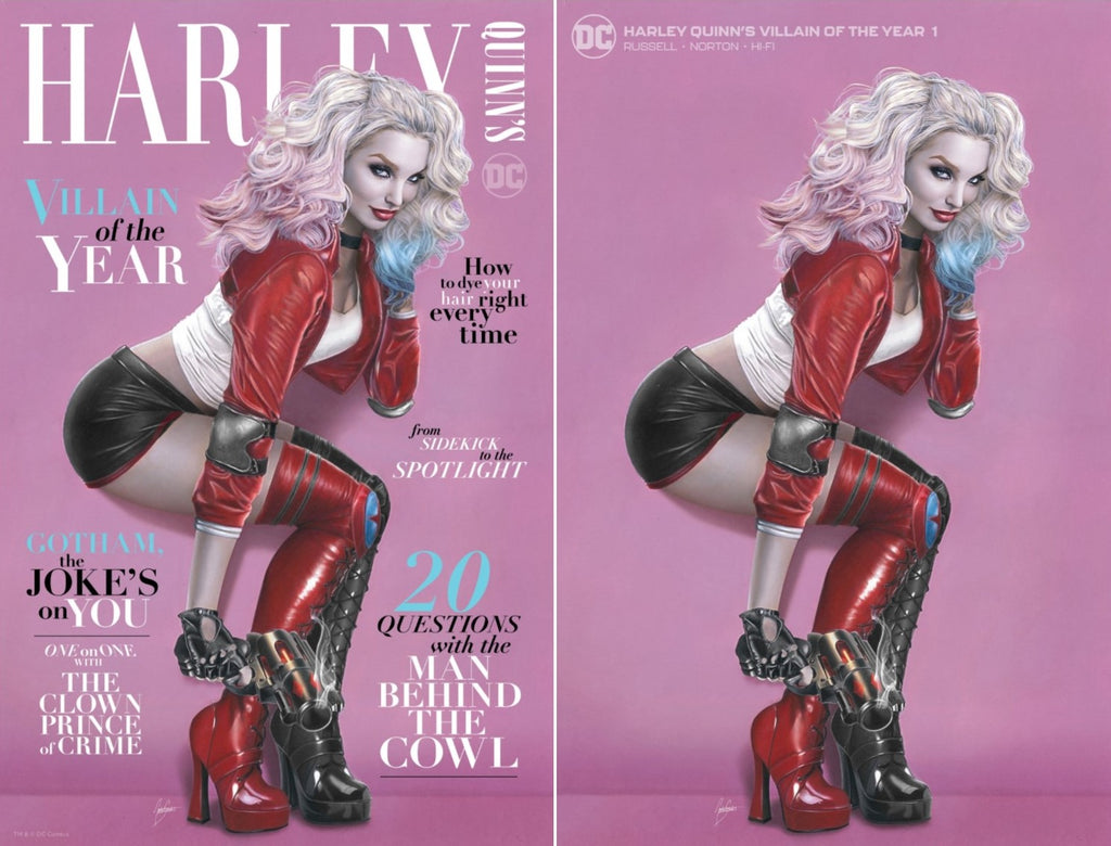 HARLEY QUINN VILLAIN OF THE YEAR #1 NATALI SANDERS VARIANT OPTIONS