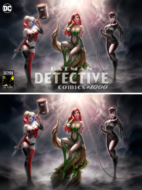 DETECTIVE COMICS #1000 WARREN LOUW VARIANT OPTIONS