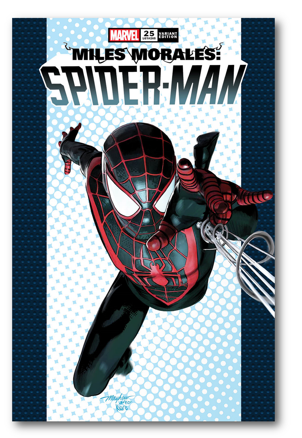MILES MORALES SPIDER-MAN #25 MIKE MAYHEW VARIANT OPTIONS
