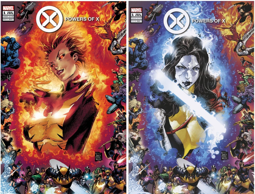 POWERS OF X #1 (OF 6) PHILIP TAN VARIANT OPTIONS