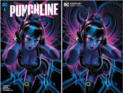 PUNCHLINE SPECIAL #1 (ONE SHOT) WARREN LOUW VARIANT OPTIONS