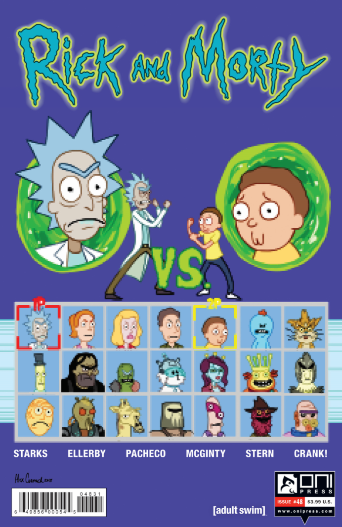 RICK AND MORTY #48 ALEX CORMACK VERSUS VARIANT