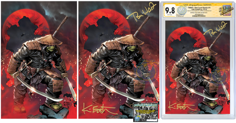 TMNT THE LAST RONIN #1 (OF 5) RAYMUND BERMUDEZ VIRGIN VARIANT