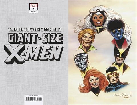 GIANT SIZE X-MEN TRIBUTE WEIN COCKRUM #1 HIDDEN GEM 1:100 VIRGIN VARIANT