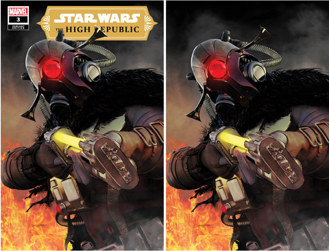 STAR WARS HIGH REPUBLIC #3 MIKE MAYHEW VARIANT OPTIONS