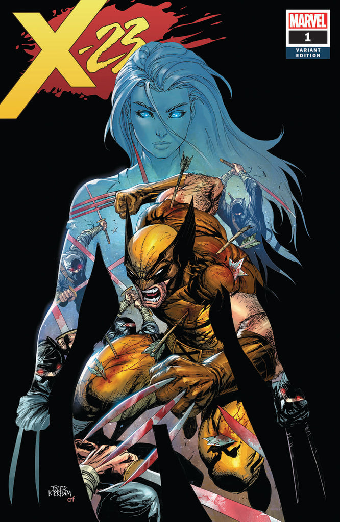X-23 #1 TYLER KIRKHAM/KRS COMICS EXCLUSIVE