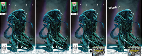 ALIEN #1 MIKE MAYHEW EXCLUSIVE OPTIONS