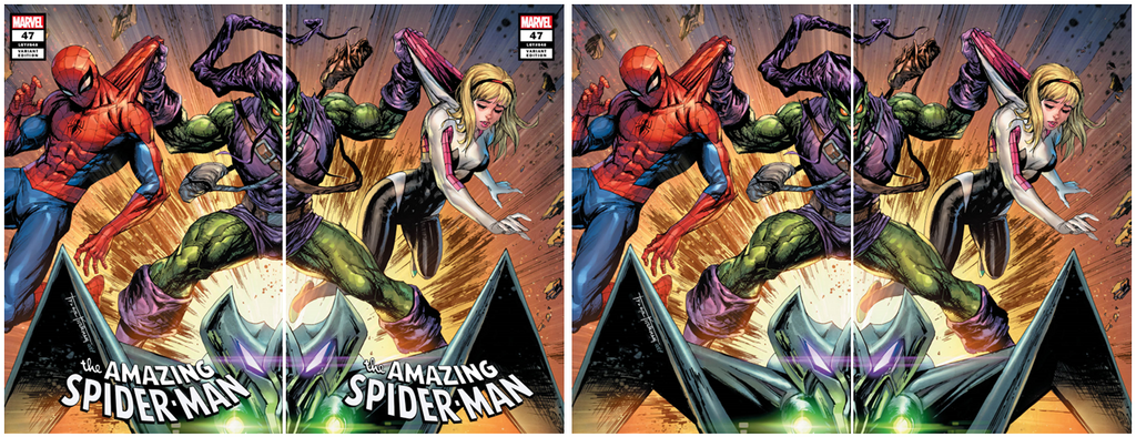 AMAZING SPIDER-MAN #47 TYLER KIRKHAM VARIANT OPTIONS