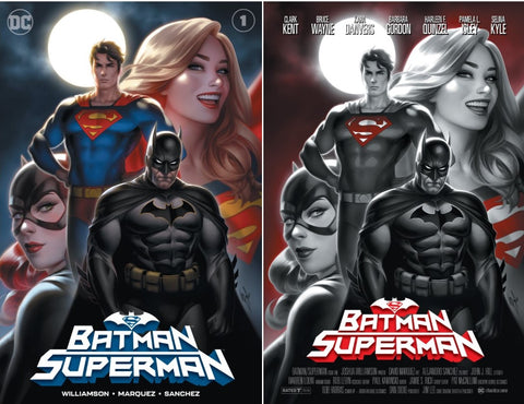 BATMAN SUPERMAN #1 WARREN LOUW EXCLUSIVES