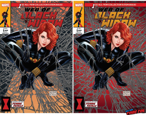 WEB OF BLACK WIDOW #1 (OF 5) ASHLEY WITTER EXCLUSIVE OPTIONS