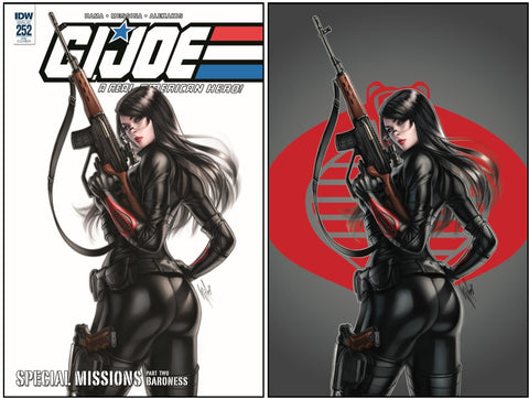 GI JOE A REAL AMERICAN HERO #252 WARREN LOUW VARIANTS