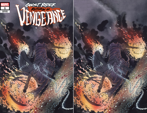 GHOST RIDER RETURN OF VENGEANCE #1 PEACH MOMOKO VARIANT OPTIONS