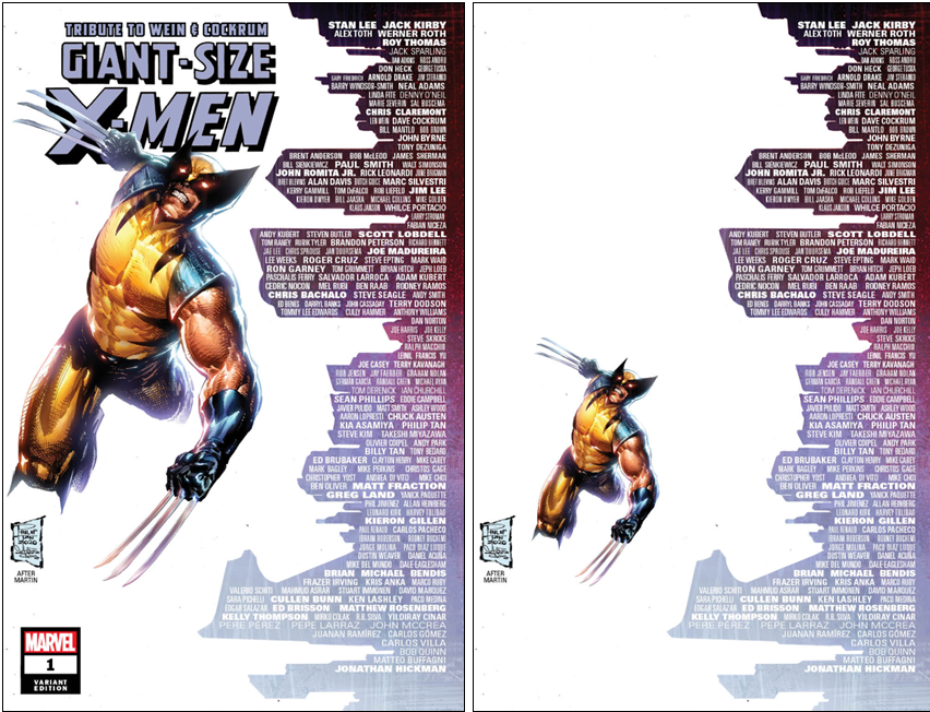 GIANT SIZE X-MEN TRIBUTE WEIN COCKRUM #1 PHILIP TAN SKYLINE VARIANT OPTIONS
