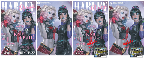 HARLEY QUINN #75 NATALI SANDERS EXCLUSIVE OPTIONS