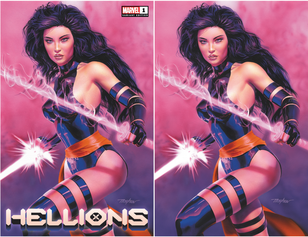 HELLIONS #1 MIKE MAYHEW EXCLUSIVE OPTIONS