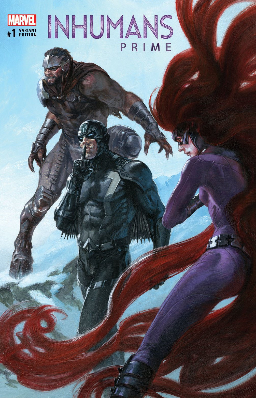 INHUMANS PRIME #1 KRS COMICS GABRIELE DELL'OTTO EXCLUSIVE