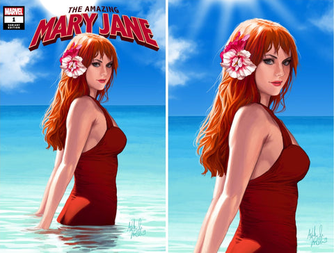 AMAZING MARY JANE #1 ASHLEY WITTER VARIANTS