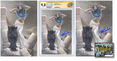 SACRED SIX #1 NATALI SANDERS PANTHA VARIANT OPTIONS