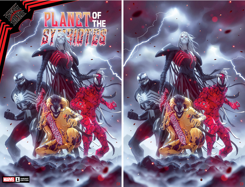 KING IN BLACK PLANET OF THE SYMBIOTES #1 (OF 3) ALEX GARNER VARIANT OPTIONS