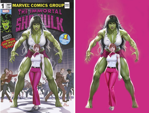 IMMORTAL SHE-HULK #1 INHYUK LEE VARIANT OPTIONS